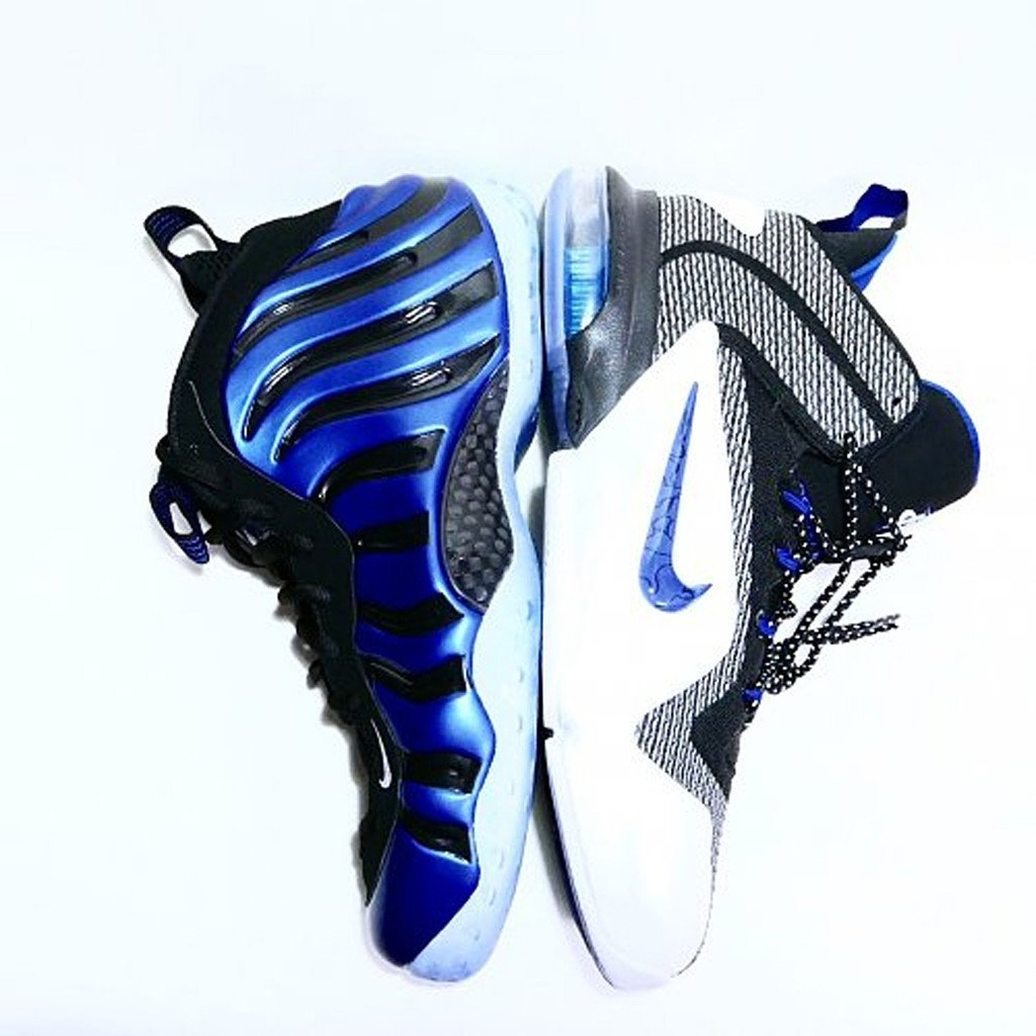 promo code fcaca e5224 Nike Penny Pack QS Game Royal  Sharpie  Size 7 Foamposite 800180 001