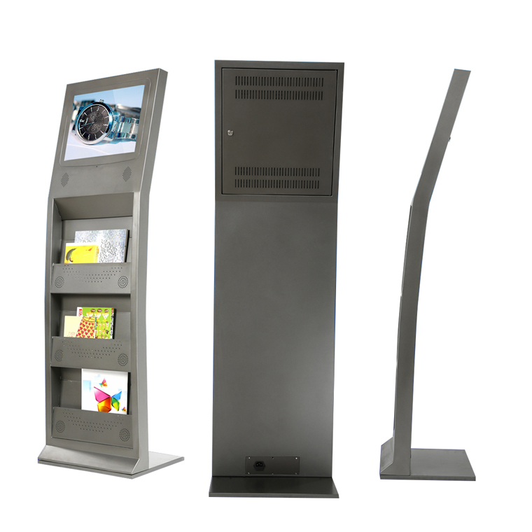 17 free standing multimedia book rack lcd totem stands for Totem stand