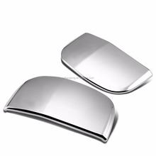Exterior Accessories for 07-13 Tundra Double Ca Chrome Rear only 2D Shape Door Handle Cover 2013