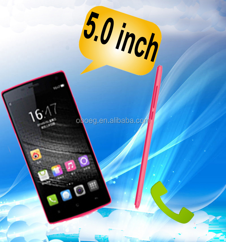 Cheap 5.0inch android city call 3g phone
