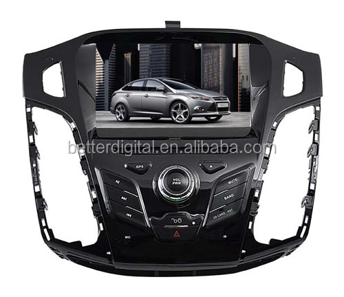 For ford focus car gps navigation 8 inch 2012