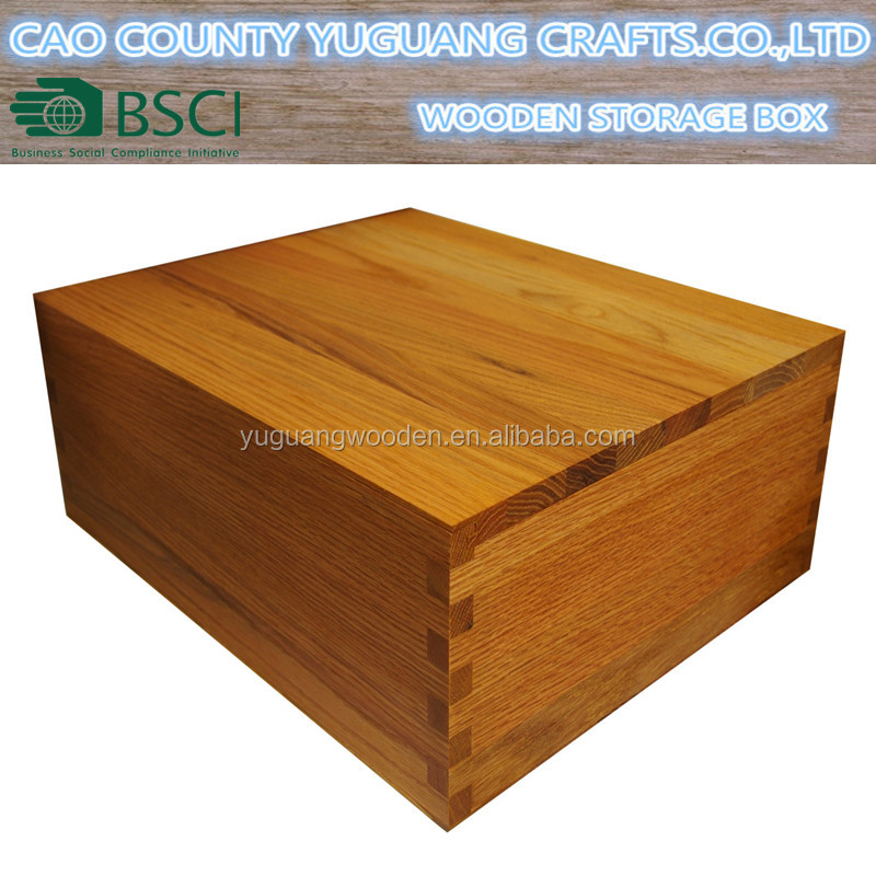 X-Large Wooden Keepsake Memory Storage Box Chest