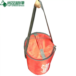 Promotional Round Cooling Insulated thermal water bottle cooler bag