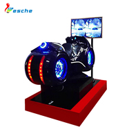Leesche new design virtual reality equipment vr racing simulator motorcycle for adults and kids