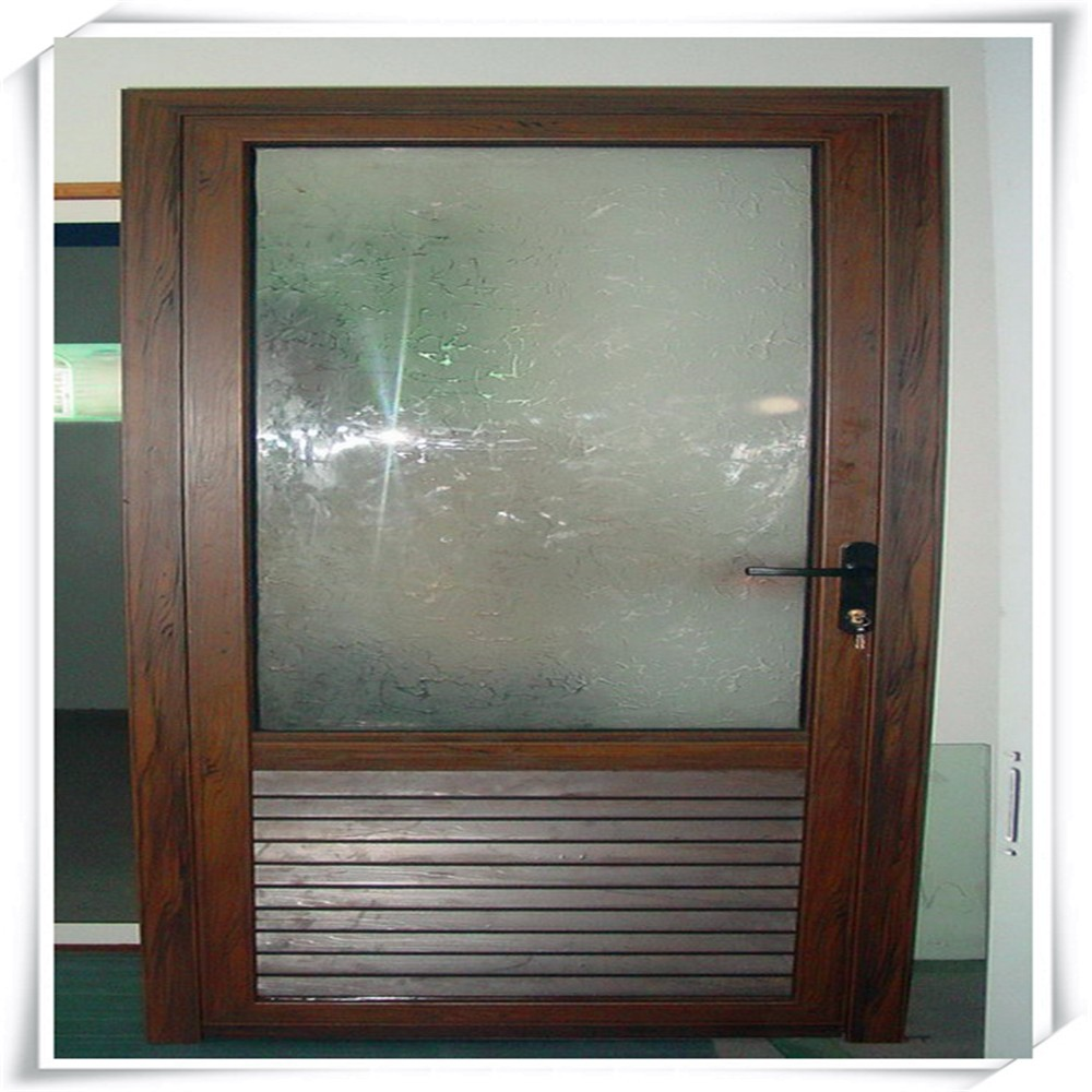 Aluminio exterior persiana puerta puertas identificaci n for Puerta acristalada exterior