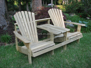 Adirondack Double Seater Chairs Vintage