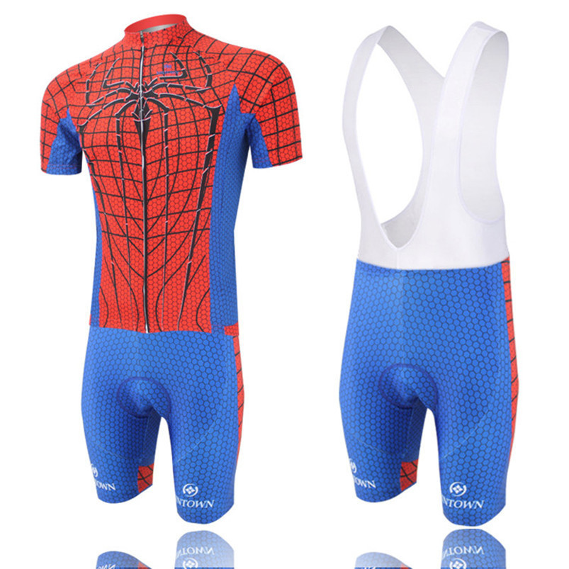 3d832b4c1 Get Quotations · Men s Red Spider Cycling Jersey Outdoor Summer Breathable  Sportswear S-XXXL Bicycle Bike Short Sleeves