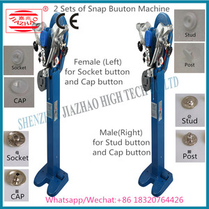 Automatic Snap Button Fixing Machine , Automatic Attaching Machine