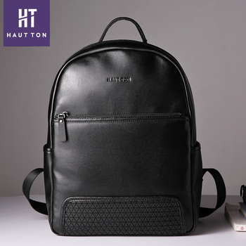 d8126d1ea85f 2018 New arrival Top Leather Travel Backpack leather men bags casual laptop  backpack