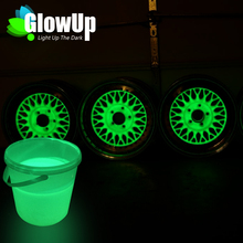 UV Glow Paint Bulk Luminous Powder Coating Glow In The Dark Paint