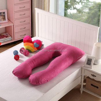 U shaped body cotton pregnancy pillow, maternity pillow, pillow for ...
