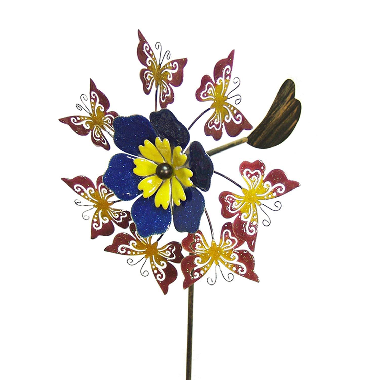 Echo Valley 4311T Butterfly Flower Pinwheel