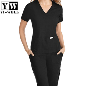 Best Nurse Scrub Suit Design Nursing Uniform Set Cheap Nursing uniform wholesale