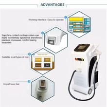 Permanent hair removal machine diode laser 808 810 hair removal