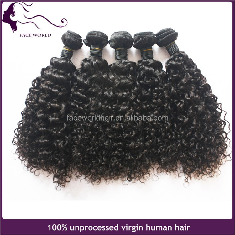 Qingdao peerless virgin hair company wholesale jerry curl human hair braiding for black white women curly hair extensions
