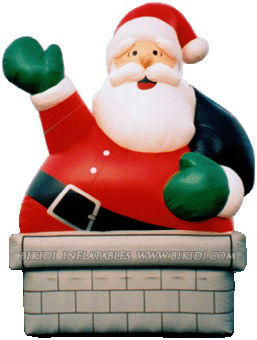 2012 hot sale inflatable santa balloon, advertising inflatables K2016