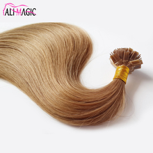 Ali Magic Factory Price, Russia Alibaba Beauty Product 100 Human Hair, I Tip Keratin Hair Extension