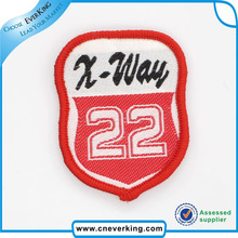 Custom garment pvc logo embossed reflective label/patch/tag