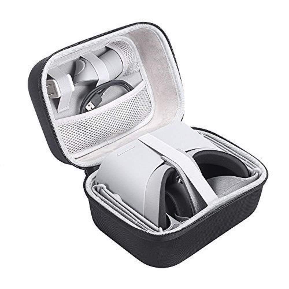 Honbobo VR Eyeglass Storage Box Waterproof Hard EVA Protection Travel Carry Bag Storage Case for Oculus Go VR Case
