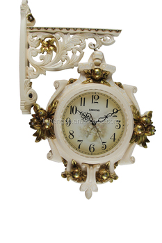 outdoor double side wall corridor decorative wall clockdouble face wall clock
