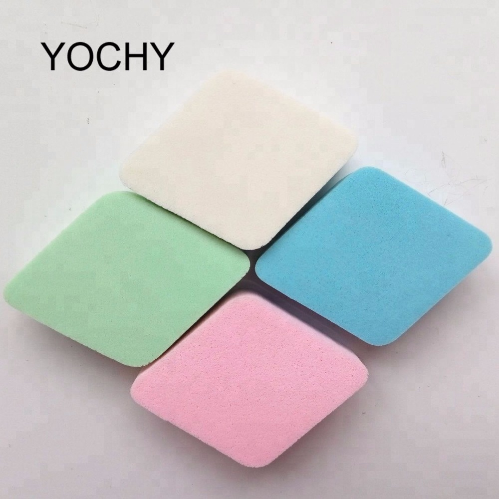 Factory Directly Sales Liquid 4pcs Latex Makeup Sponge Foundation Cosmetic Powder Puff