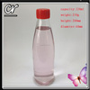 330ml glass soft drink bottle with plastic cap screw top