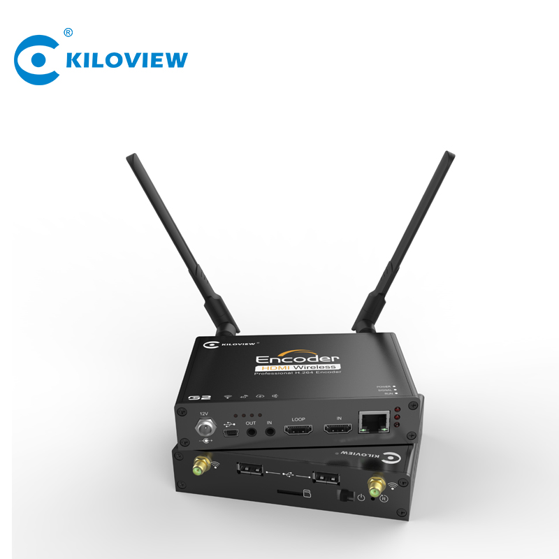 Audio video a ip convertitore di wifi 4g hdmi di ingresso video encoder supporto facebook youtube twitter