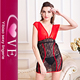 Hot Women Babydoll Sexy Lingerie Transparent Sleepwear Lace Chemises