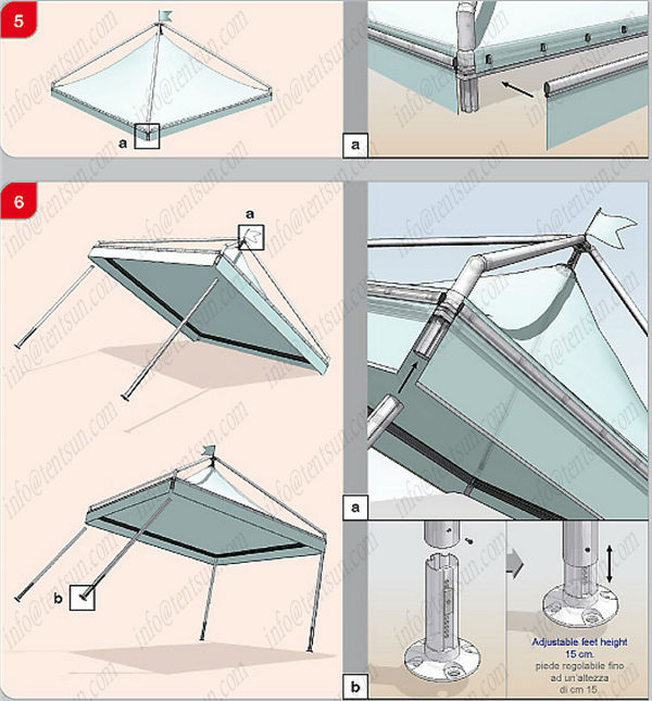 avid outdoor tent assembly instructions