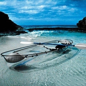 Clear Kayak Boat With Clear Bottom China Cheap Surf Ski Kayak Canoe Cheap Kayak