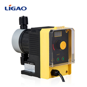 Valveless low flow high pressure polymer solenoid metering pump
