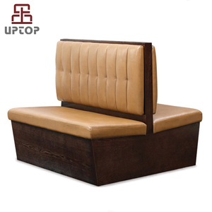 (SP-KS122)Restaurant sofa booth leather booth seating classic club booth  seating for sale