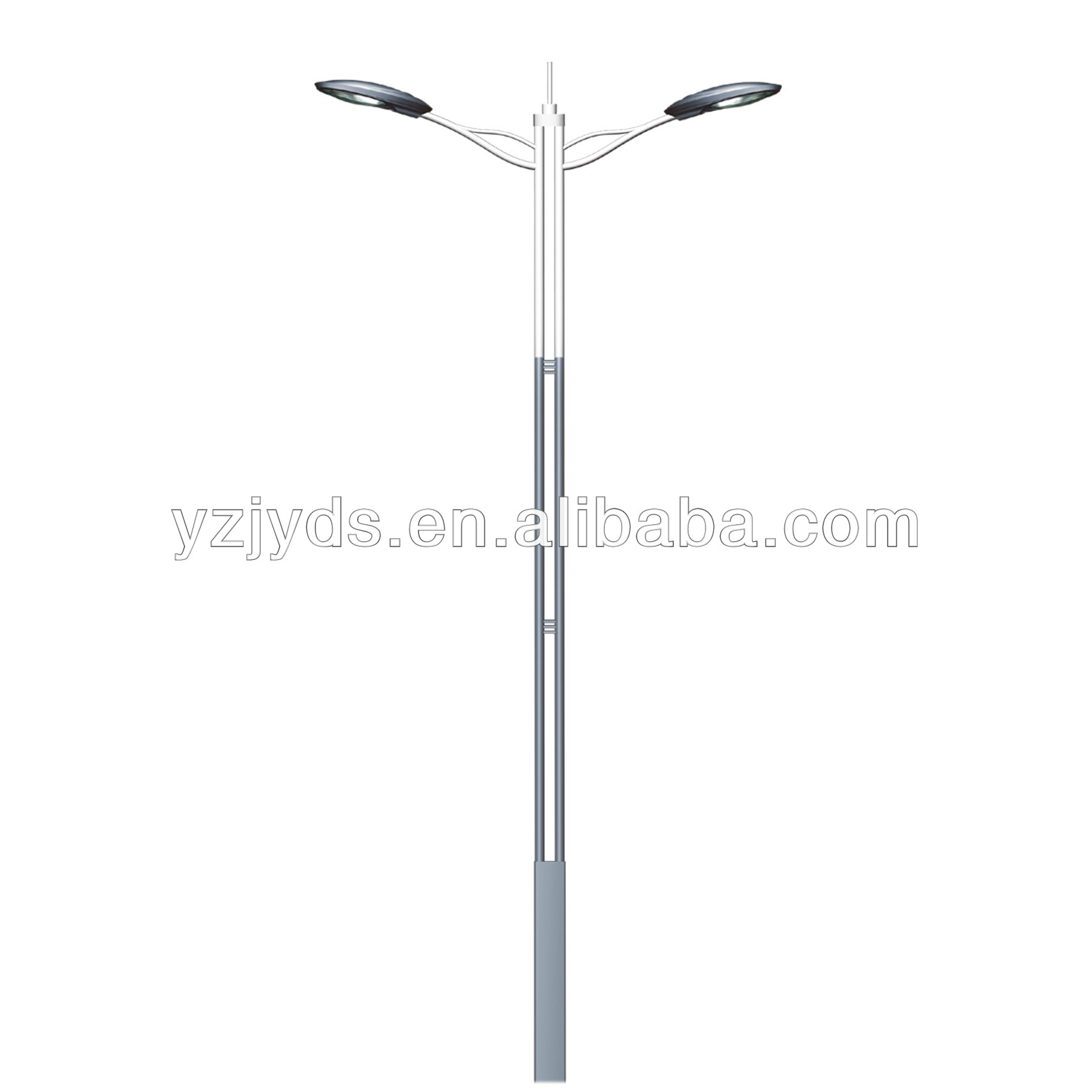 Street Light Double Arm Pole With Drawing - Buy Double Arm Pole ... for Street Light Drawing  186ref