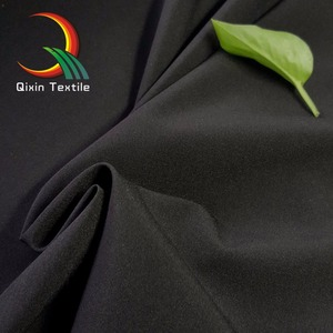 high quality 92% Polyester 8 %Spandex 2 way/4 way spandex pongee waterproof fabric for leisure wear/wind jacket