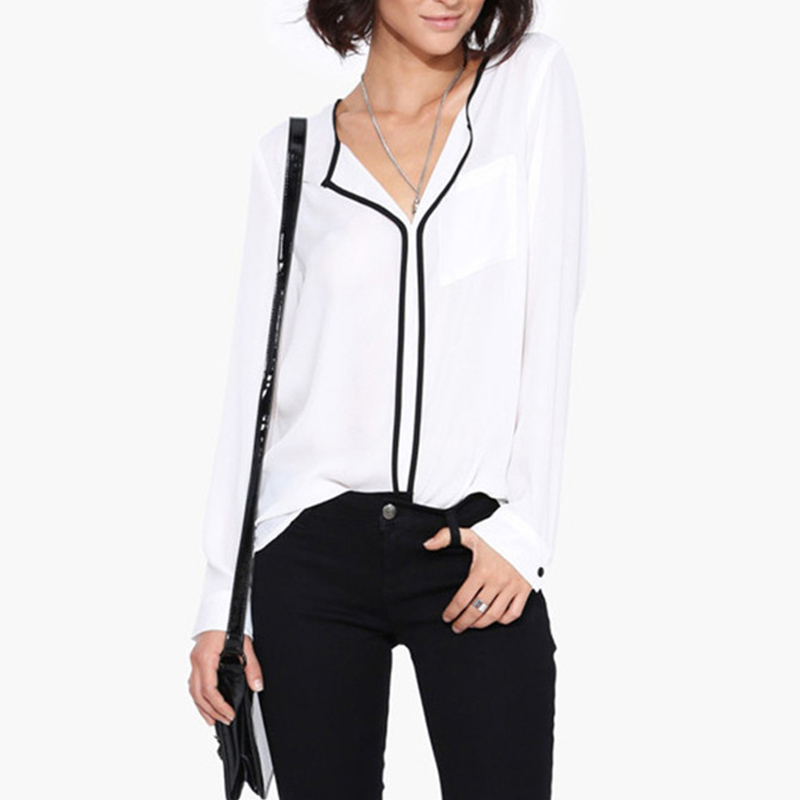 7be242f4d2534e Detail Feedback Questions about Women White Blouses Summer Long ...