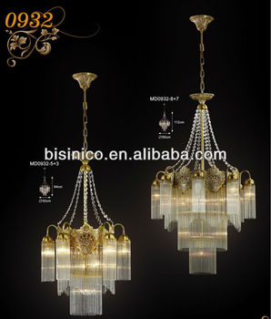 Luxury Vintage French Empire Br Lamp Rainbow Crystal Prism Chandelier