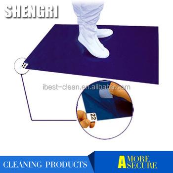 sticky floor door mats-disposable pe tacky mat, view sticky floor