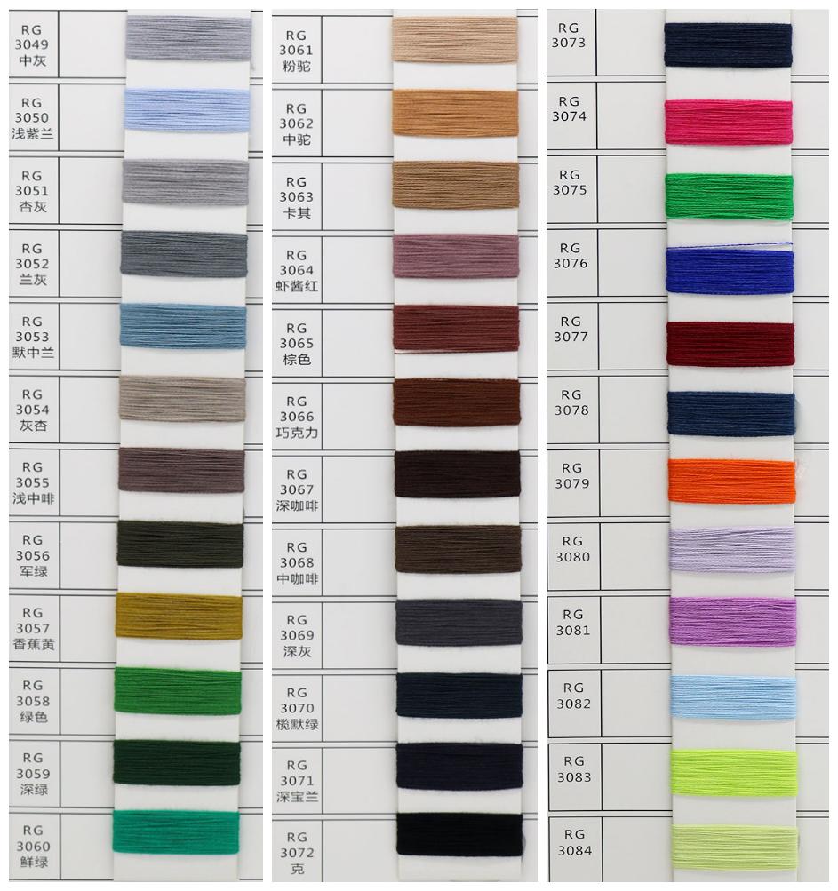 Di alta qualità di vendita calda manica lunga rotondo multicolore di modo del collare maglia maglione pullover