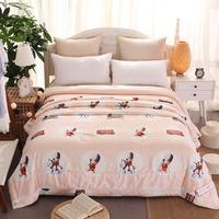 Wholesale luxury queen size silk duvet/quilt/comforter