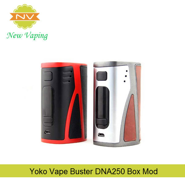 Wholesales price alibaba Hugo dna buster 250 watts vapor mod huge vaporizer three 18650 battery mod in stock
