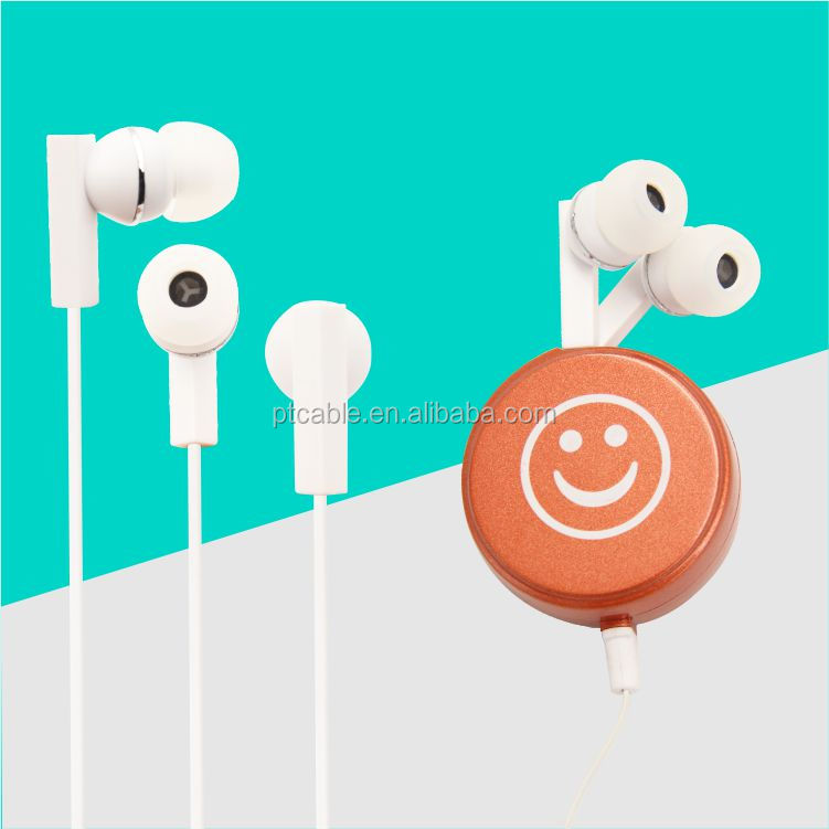 In Ear Earphone Free Sample OEM/ODM Smile In Ear Earphone