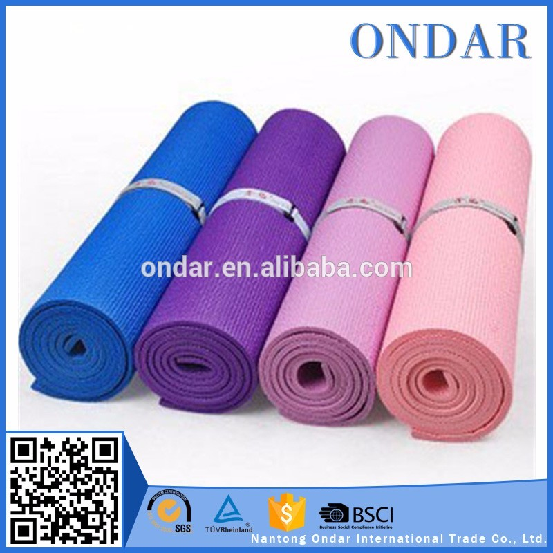 Family used wholesale yoga mat roll pvc