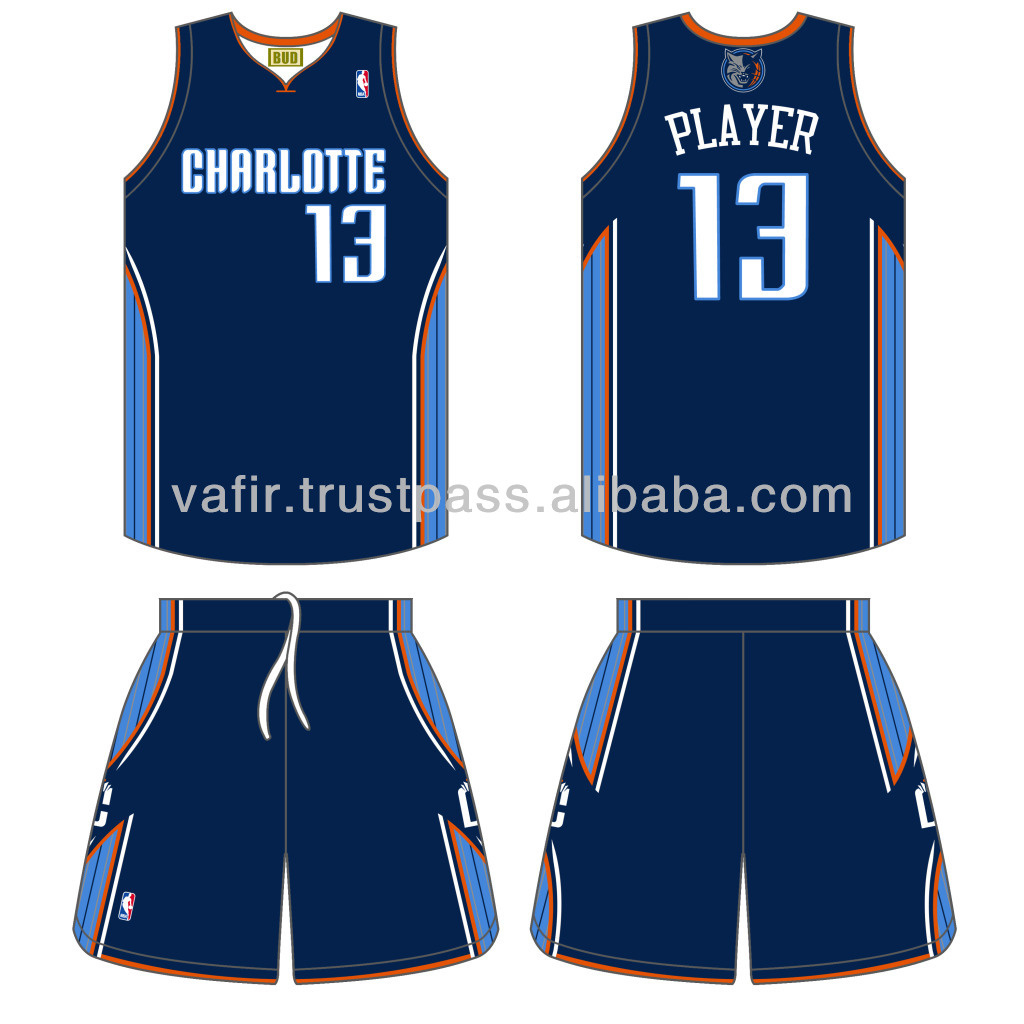 reputable site be668 59d63 kids charlotte bobcats customized blue jersey