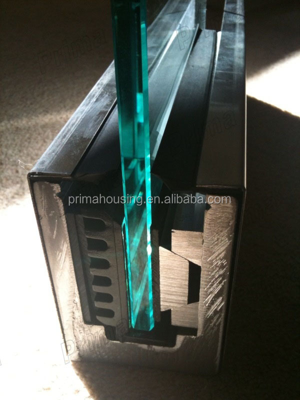 Customized Glass Balcony Railing Prices,Aluminum U Channel Railing ...