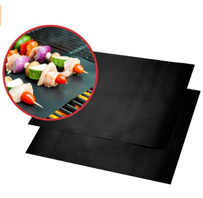 BBQ Grill Mat Works on Any BBQ Grill Heavy Duty 100% Non-stick Easy to Clean and Reusable