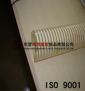 "China factory Flexible spiral corrugated Pvc Suction Hose 1/2"" to 16"""
