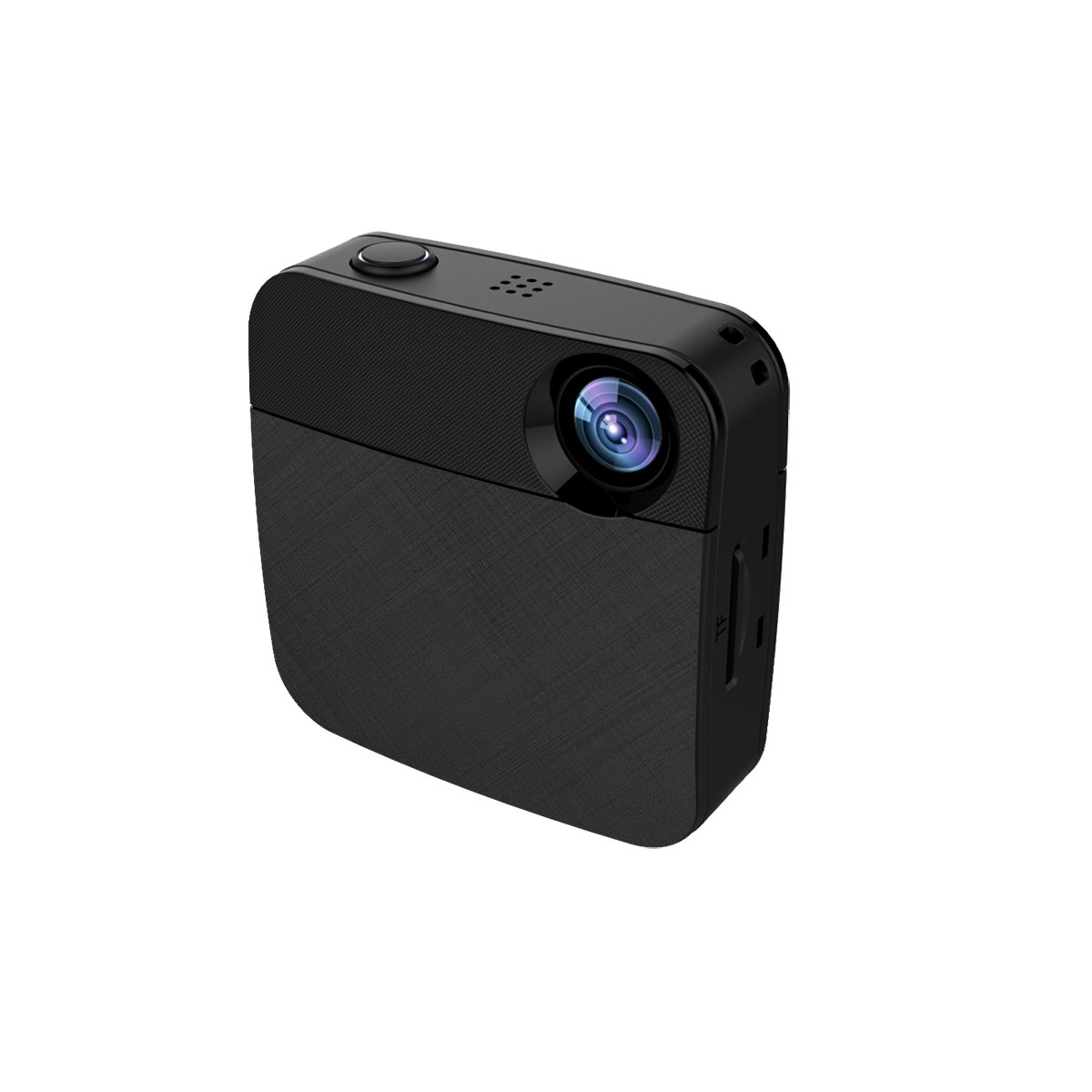 KEHAN CubeCam WIFI body wearable HD video camera, Facebook/Youtube live stream, share video on Twitter/Instagram instantly + 32GB Memory Card