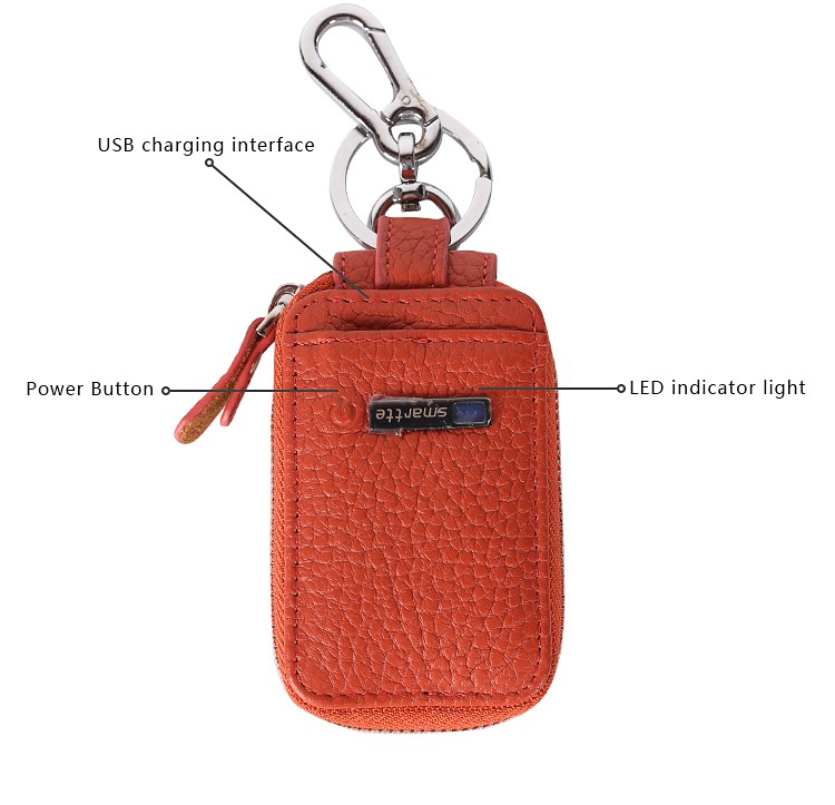 smartlb 2018 new arrival product fashion rfid Key Wallet leather