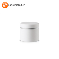High quality 30ml 50ml 100ml double wall frosted cream jar plastic PP cosmetic jar