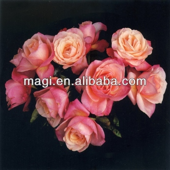 Famous Pink Rose Flower Oil Painting Buy Famous Flower Paintings